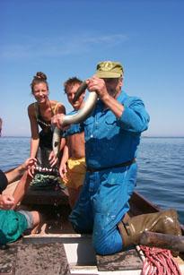 Ålfiske med Sven